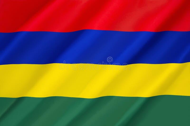 флаг Маврикий стоковая фотография