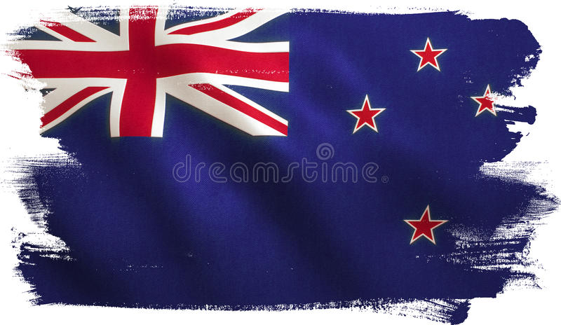 Флаг Новой Зеландии иллюстрация вектора