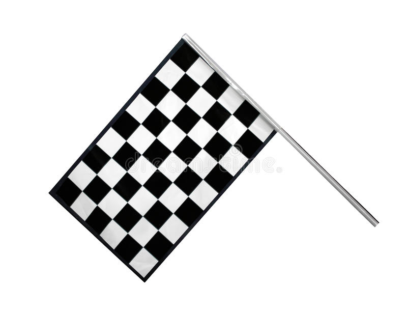 Флаг отделки стоковая фотография