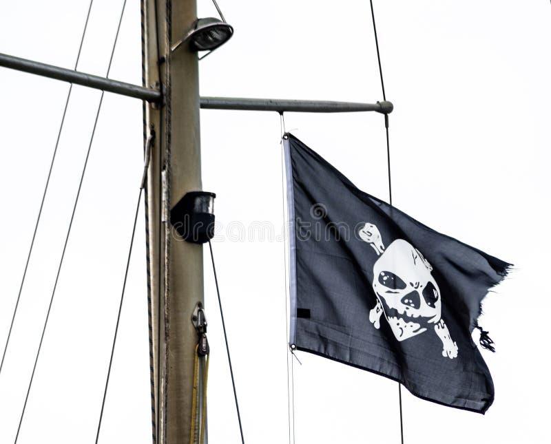 Флаг пиратов стоковое изображение