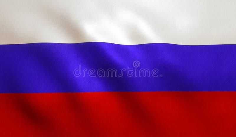 Флаг Российской Федерации стоковое изображение