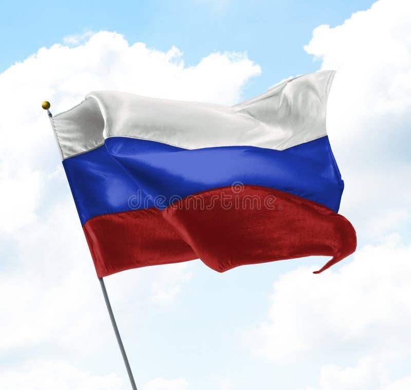 флаг Россия стоковые фотографии rf