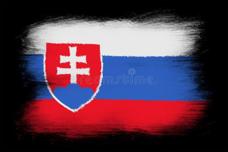 Флаг Словакии бесплатная иллюстрация