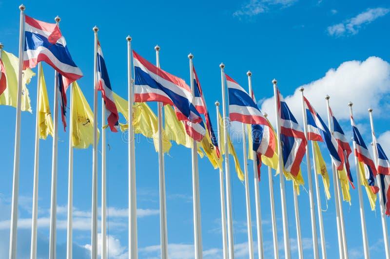 Флаг Таиланда стоковые изображения