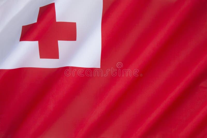 флаг Тонга стоковые изображения