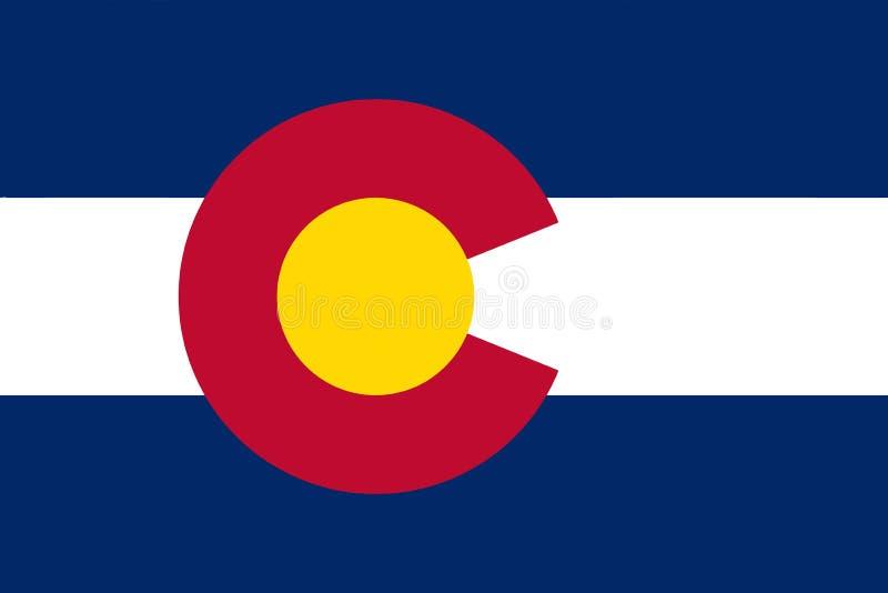 флаг colorado бесплатная иллюстрация