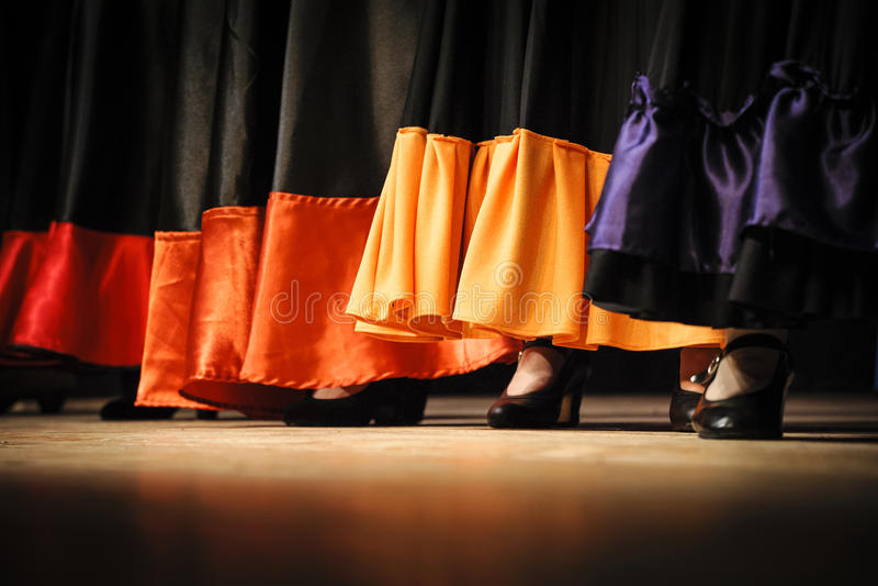 Фламенко стоковые изображения