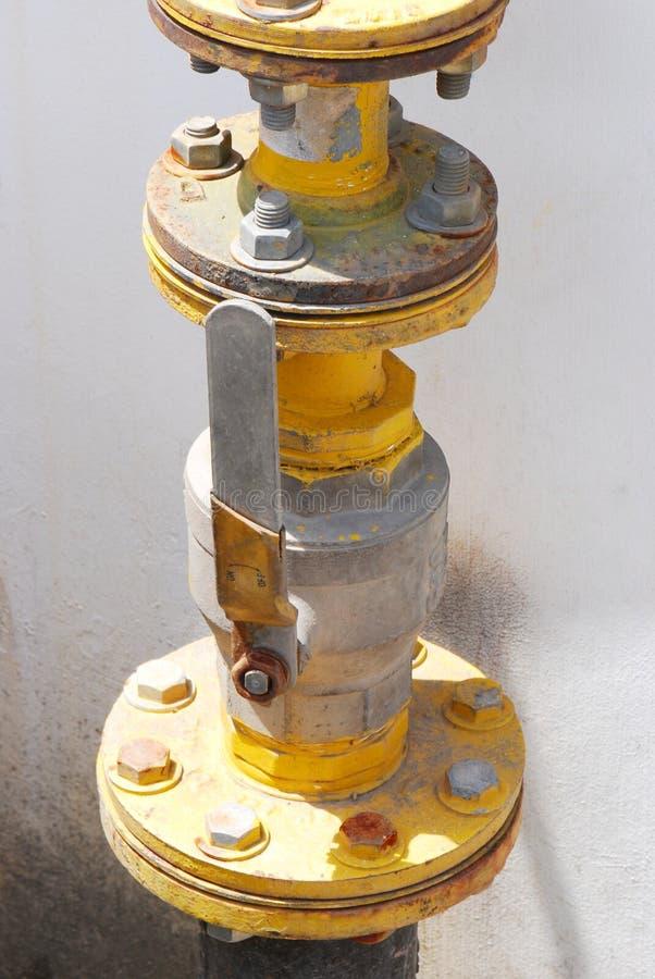 Фланец клапана стоковая фотография
