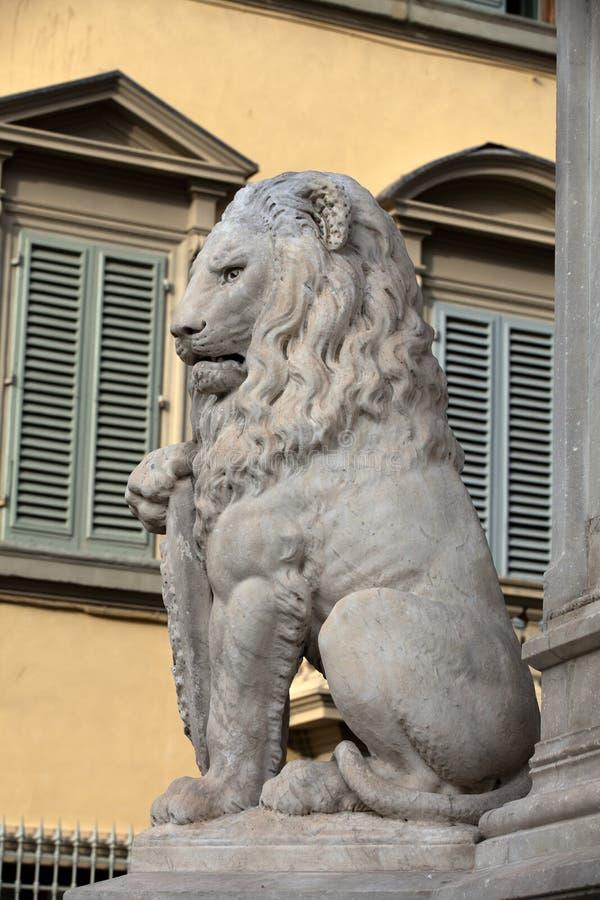 Флоренс - лев Marzocco. стоковое изображение