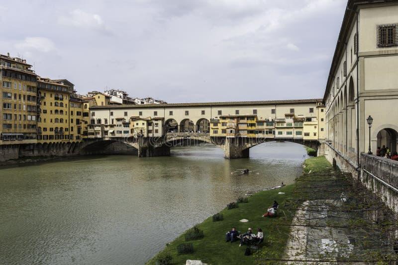 Флоренс, veccio ponte стоковое изображение rf