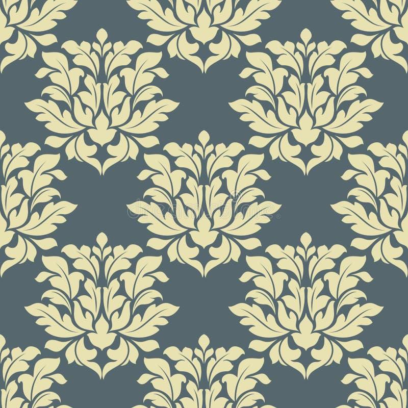 Download Флористическая безшовная картина Иллюстрация вектора - иллюстрации насчитывающей декор, орнаментально: 40587296