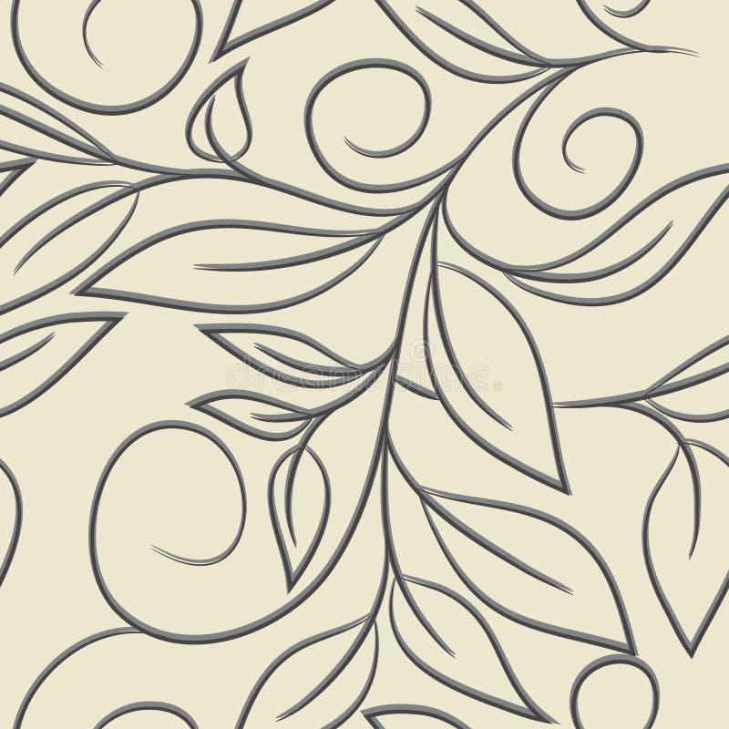 Download флористическая картина безшовная Иллюстрация вектора - иллюстрации насчитывающей brampton, листья: 41661847