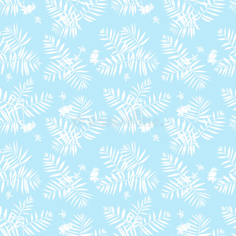 флористическая картина тропическая иллюстрация вектора