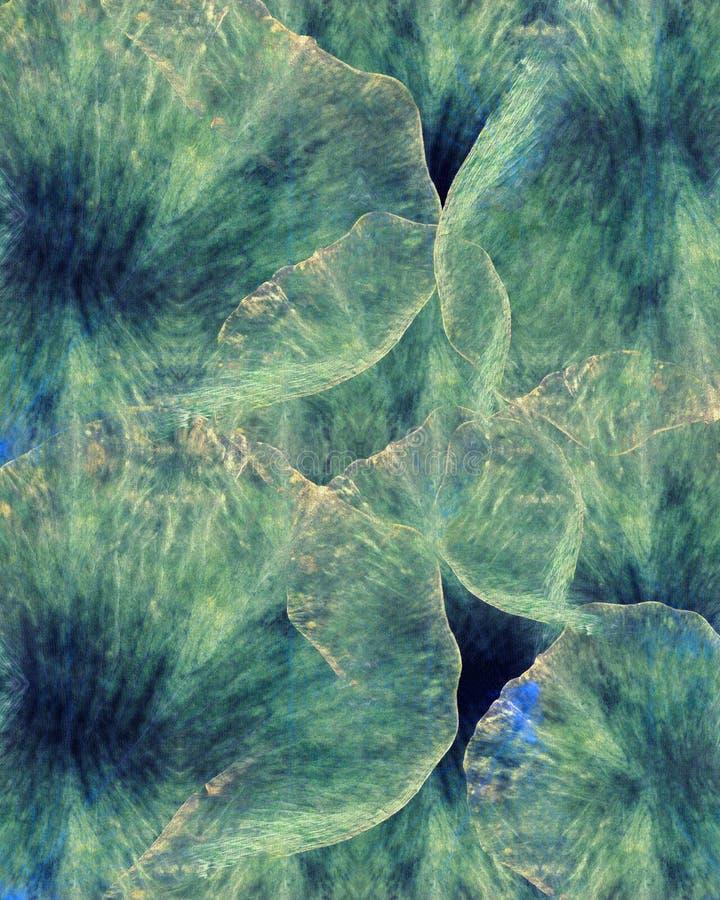 Флористическая предпосылка батика grunge искусства Пастельные цвета Stylization, акварели Фон текстурированный годом сбора виногр стоковые изображения rf