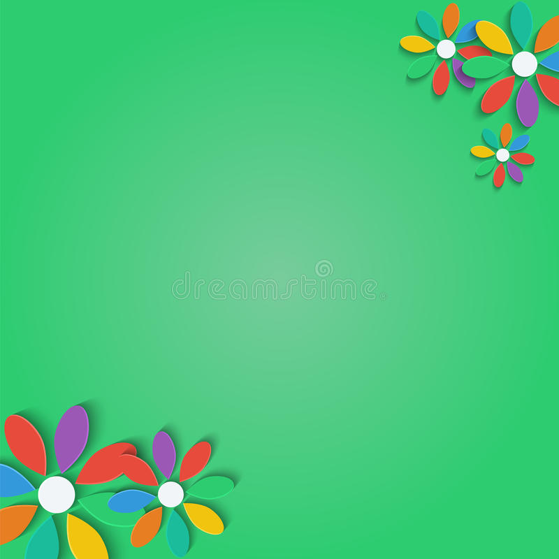 Download Флористическая предпосылка иллюстрация вектора. иллюстрации насчитывающей маргаритка - 37927564