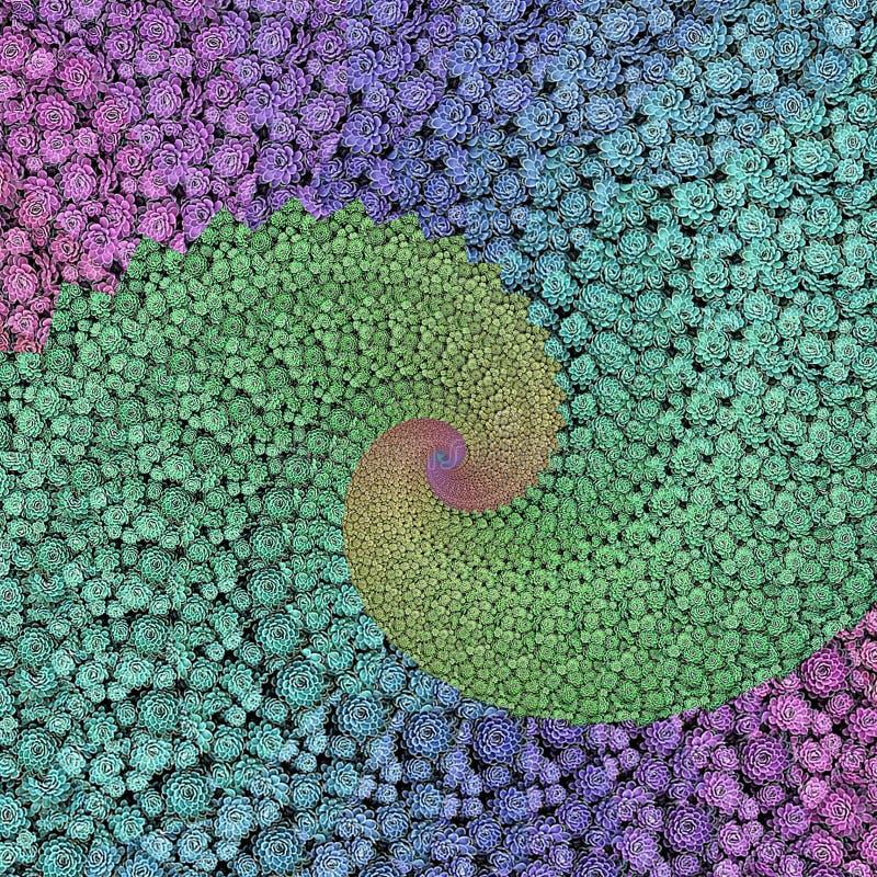 Флористическая фракталь бесплатная иллюстрация