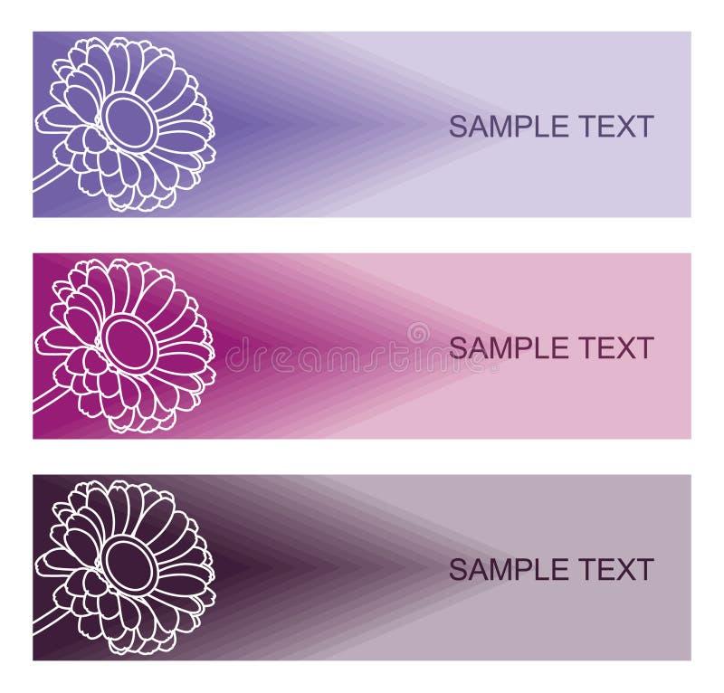 Флористические предпосылки для современного дизайна стоковое изображение rf