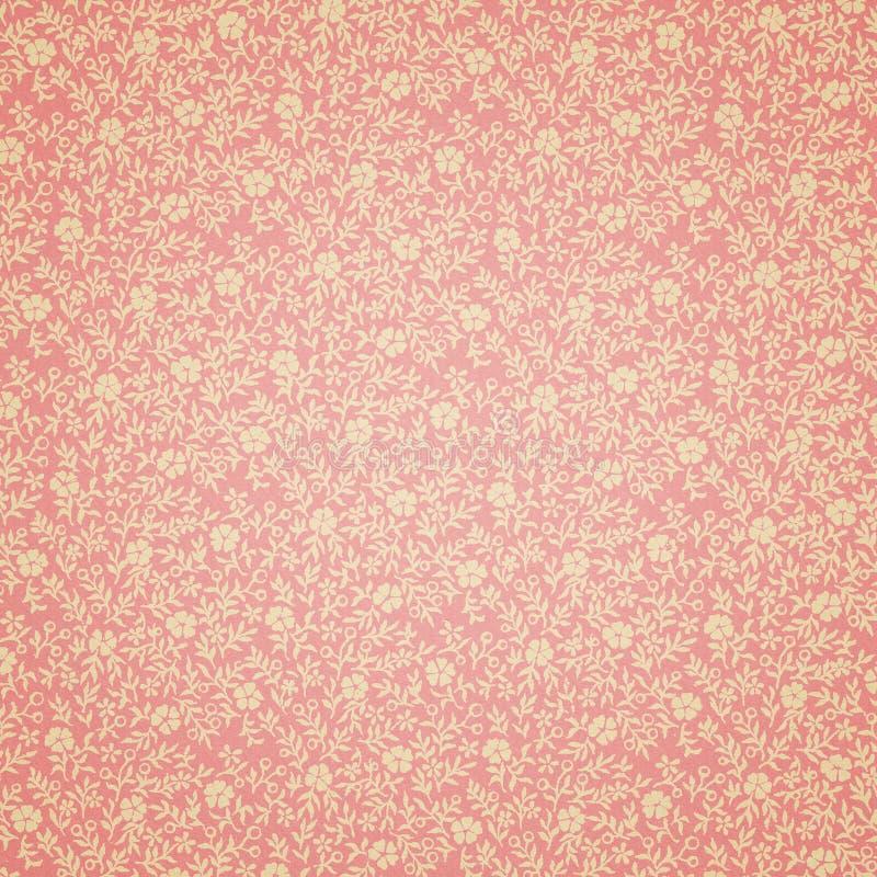 флористические ретро обои стоковое фото rf