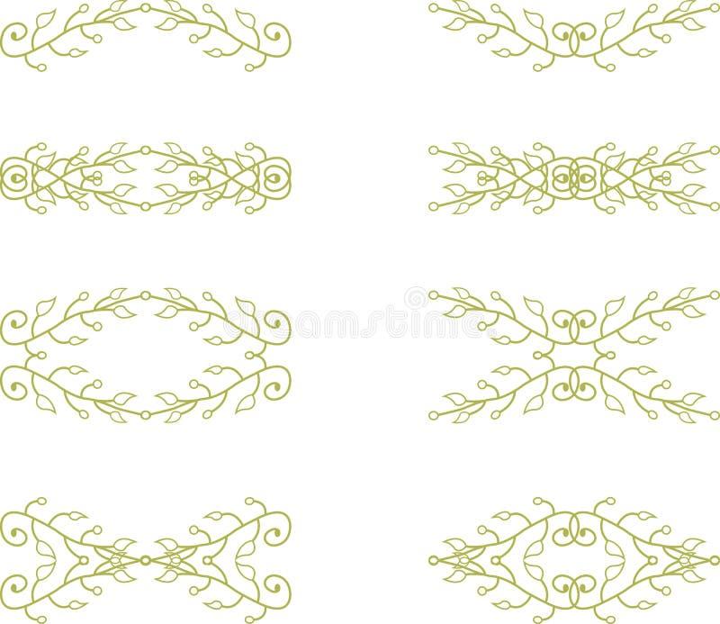 Флористические элементы ветви бесплатная иллюстрация
