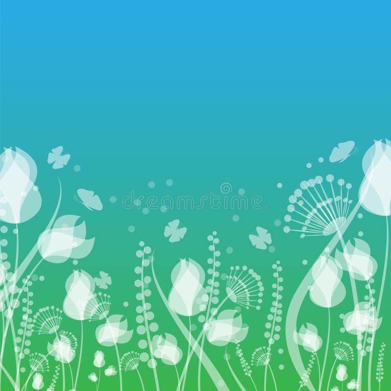 Флористический дизайн бесплатная иллюстрация