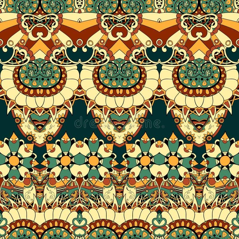 Флористический механизм безшовный  иллюстрация вектора