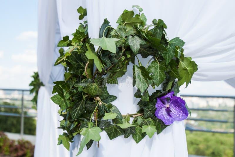 Флористический chaplet стоковое изображение