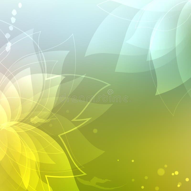 флористическое абстрактной предпосылки цветастое абстрактная предпосылка иллюстрация штока