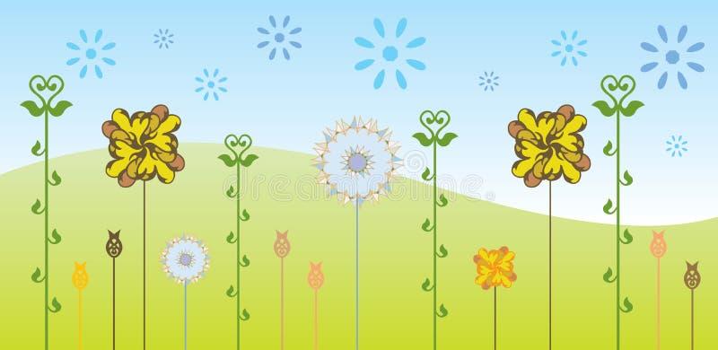Флористическое backgound бесплатная иллюстрация