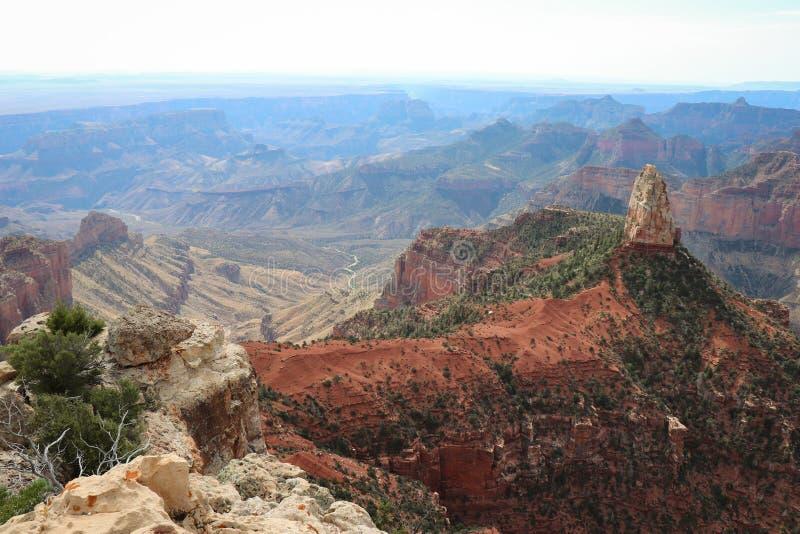 Хайден с горы Гранд Каньон стоковые изображения