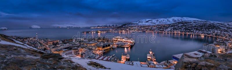 Хаммерфест Норвегия стоковое фото rf