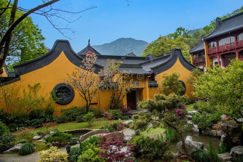 Ханчжоу Lingyin Temple стоковое фото