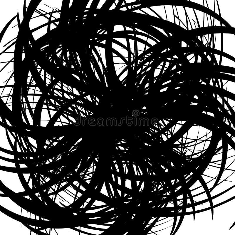 Download Хаотические случайные изогнутые линии Абстрактная художническая картина, Backgrou Иллюстрация вектора - иллюстрации насчитывающей хаотическо, скручиваемость: 81811484