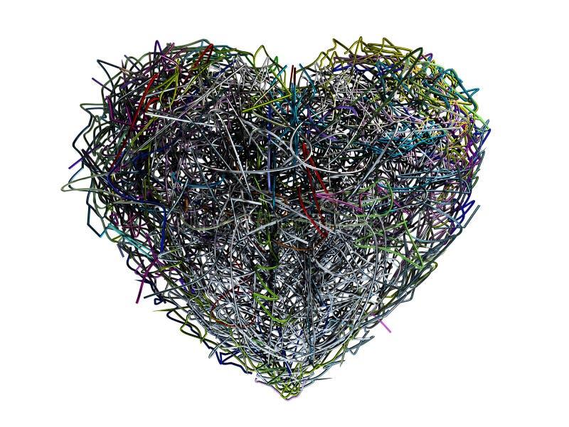 хаотическое сердце бесплатная иллюстрация