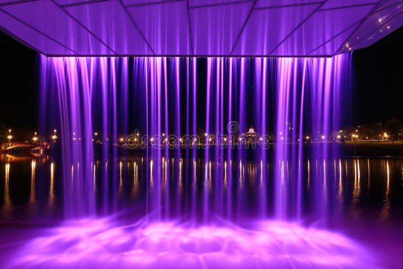 Характеристика водопада Аделаиды стоковая фотография
