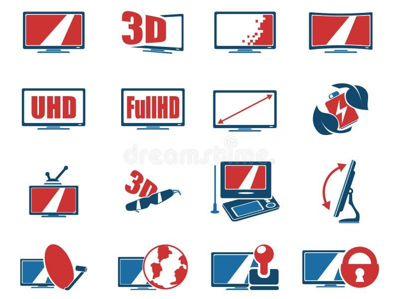 Характеристики и спецификации ТВ вектора бесплатная иллюстрация