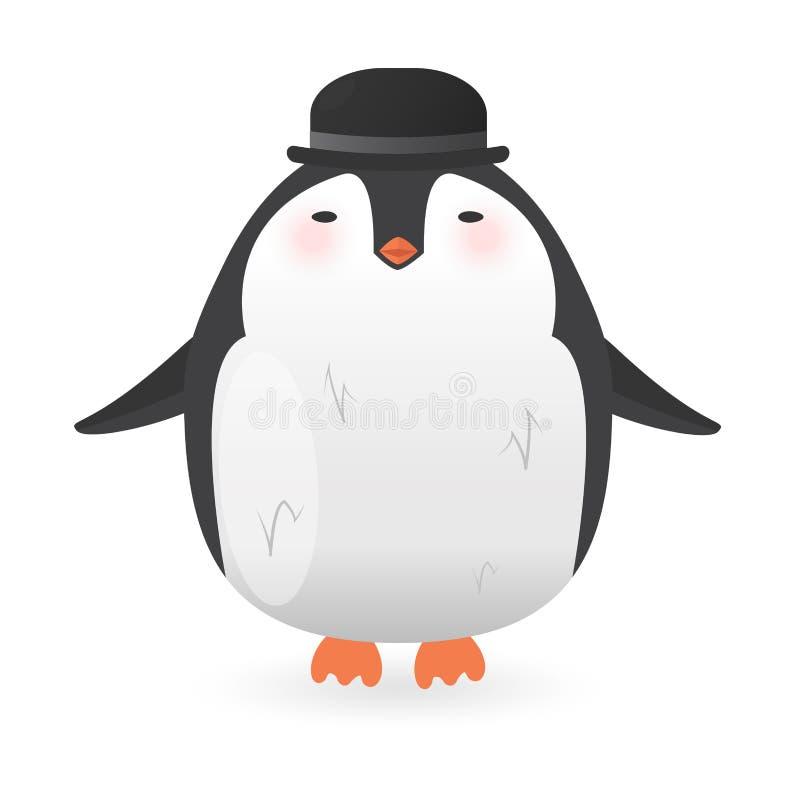 Характер пингвина шаржа птица смешная бесплатная иллюстрация
