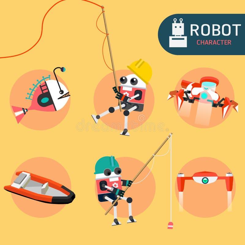 Характер робота бесплатная иллюстрация