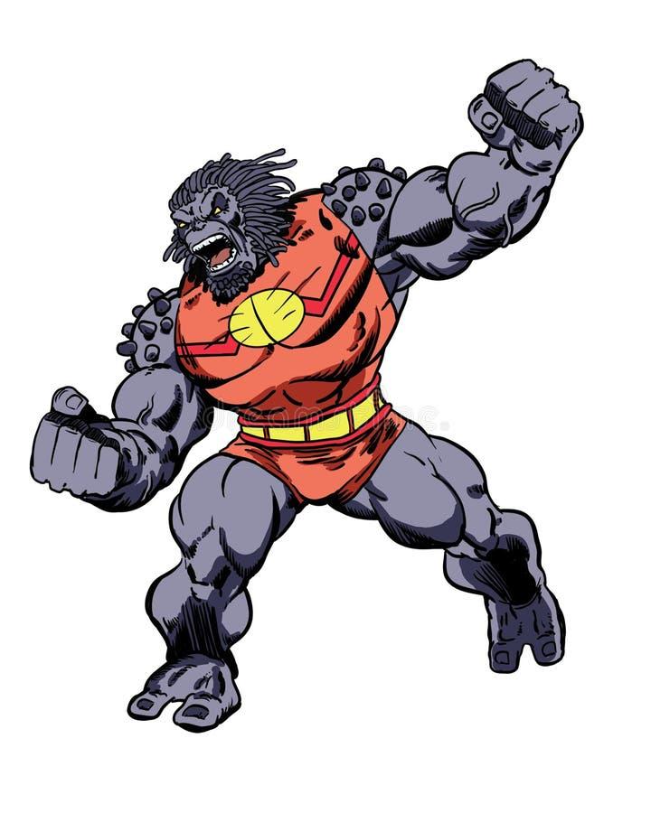 Характер Grock комика зверюга чужеземца бесплатная иллюстрация