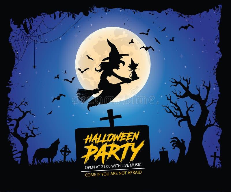 характер halloween предпосылки изолированный над плакатом стоковые изображения