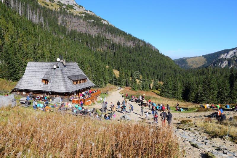 Хата горы Польши стоковое изображение
