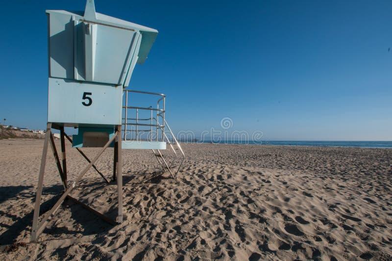 Хата пляжа в Pismo на шоссе 1 стоковые изображения rf