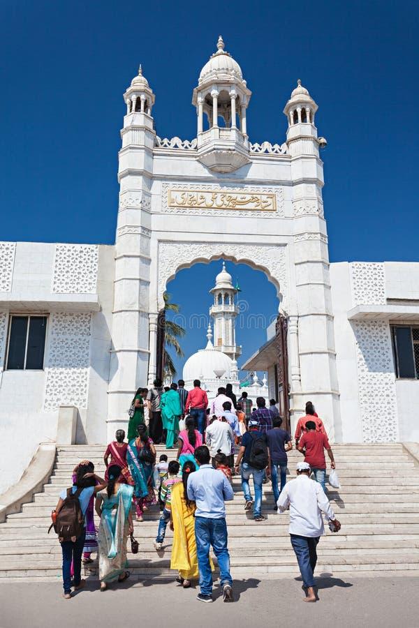Хаджи Али Dargah стоковое изображение rf