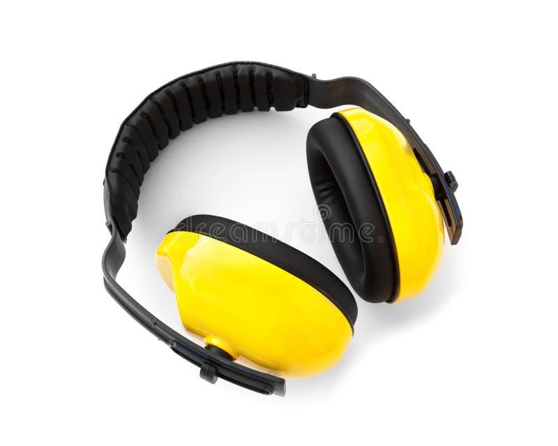 Халява уха, для уха предохранения от шума стоковые изображения rf