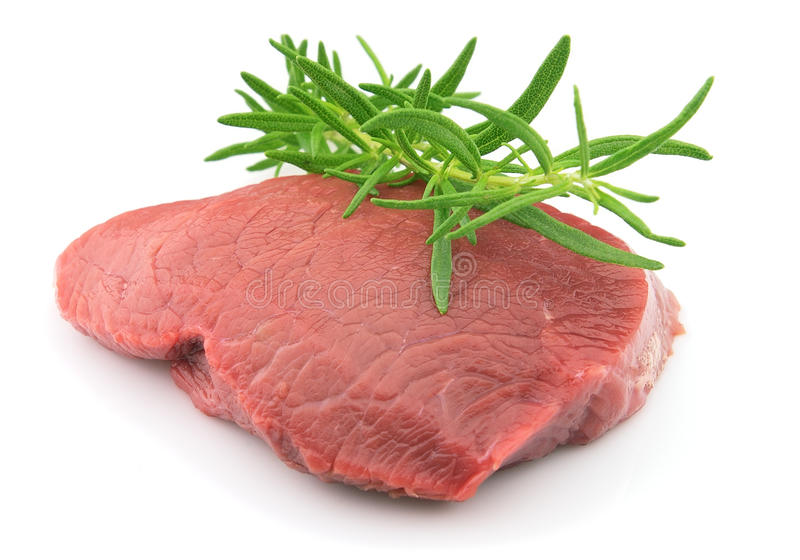 хворостина rosemary говядины стоковое фото rf