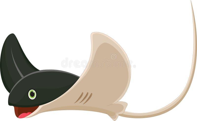 Хвостоколовый шаржа бесплатная иллюстрация