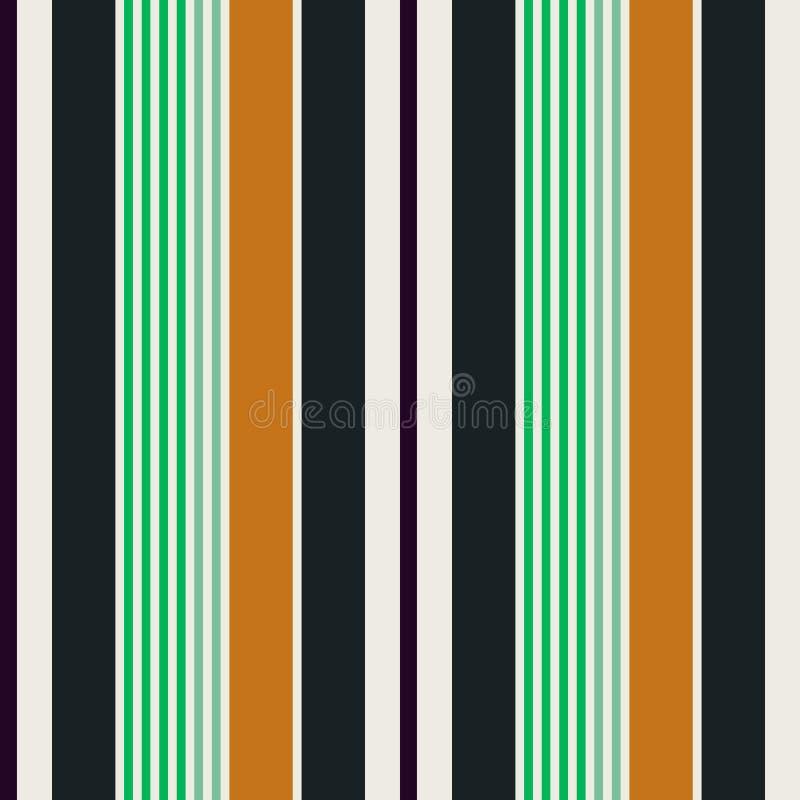Хеллоуин красит striped предпосылку на крышке и ткани иллюстрация вектора