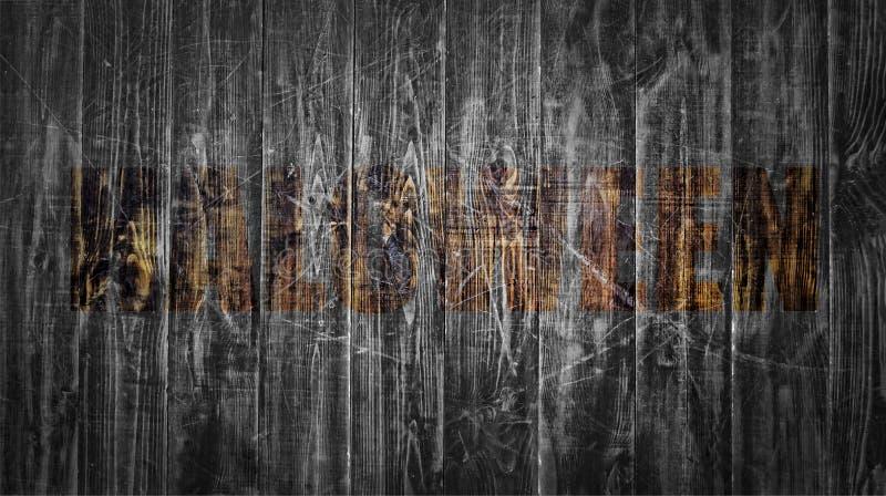 Хеллоуин, шрифт, реклама, приглашение, масленица, партия, торжество, праздник, прозрачность, деревянные доски, пустой дизайн стоковое изображение