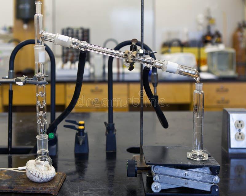 Химическая выгонка стоковая фотография rf