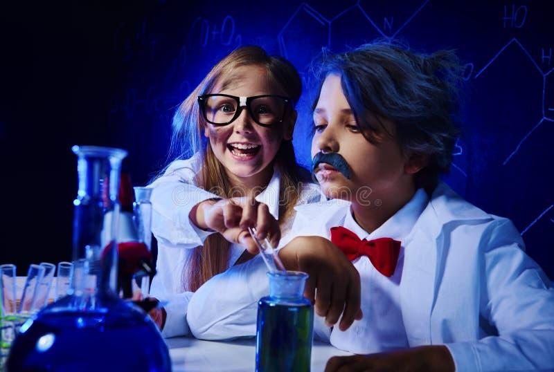 химическая наука стоковая фотография rf
