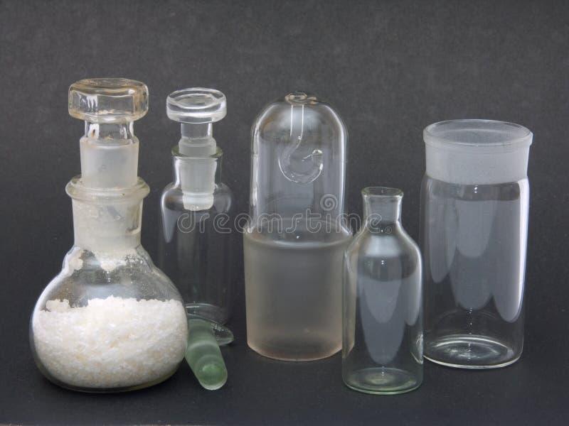 химическая посуда стоковые фотографии rf